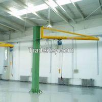 3t 5t foot mounted jib crane