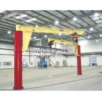 Low speed 3t foot mounted jib crane