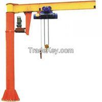 Small 3t 5t foot mounted jib crane