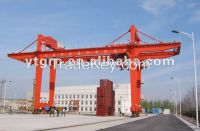32t rail mounted gantry crane