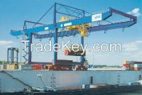 50t rail mounted gantry crane