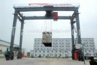 10t rubber tyre container gantry crane