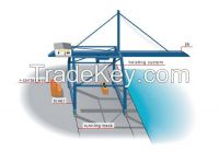 Light weight 16t ship to shore container gantry crane