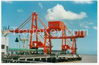 Heavy duty 50t ship to shore container gantry crane