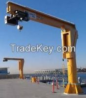 440V 5t portal luffing jib crane