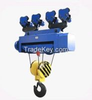 Light duty 3t wire rope motor hoist
