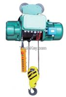 2t wire rope motor hoist