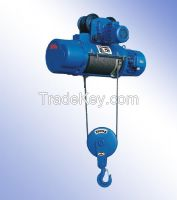 380V 1t wire rope motor hoist