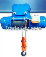 10t 16t wire rope motor hoist