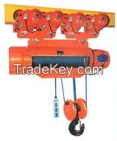 16t wire rope motor hoist