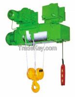 2t 3t wire rope motor hoist