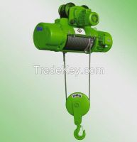 380V 2t wire rope motor hoist