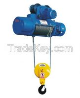 10t wire rope motor hoist