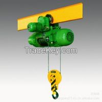 1t wire rope motor hoist