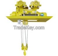 5t double speeds metallurgy electric hoist