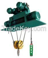 3t double speeds metallurgy electric hoist