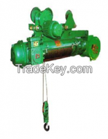 2t anti-explosion wire rope hoist
