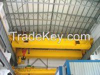 50t double girder overhead bridge crane