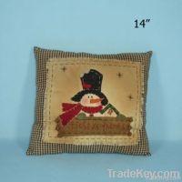 Fabric decorative pillow