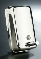 Wholesale Wall Mounted Manual Stainless Steel Liquid Soap Dispenser