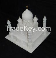 White Marble Taj Mahal