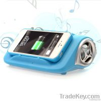Wireless charger Bluetooth speaker Desktop Mobile phone holder