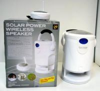 Solar Powered Wireless Hi-Fi Speaker With Transmitter