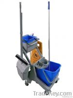 Mini cleaning trolley