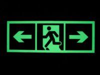 self-luminous sign