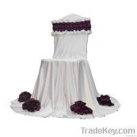 Lycra wedding chair cover