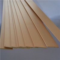 FSC Factory Supplier Horizontal Paulownia Wood Blinds Slats