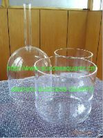 Transparent quartz crystal singing bowl