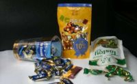 Plastic candy packaging