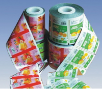 Plastic roll film with printing , Laminated Printing Film, Laminated Packaging Film On Roll