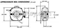 RC1300 Chemical spray hose reel