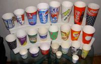 disposable paper cups, lids, jelly cups, plastic cups