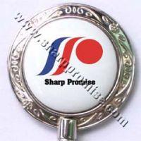 Porcelain Purse Hanger - Customized Logo