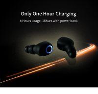 Veffivid TWS Wireless Bluetooth Earphone with Flash Light