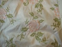 Embroidered & Plain Silk Fabrics
