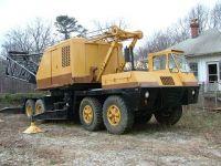 P & H Truck crane