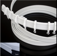 PVC curved rod, PVC curved track, PVC flexi net rod