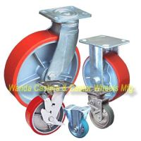 Polyurethane Caster Wheels with Iron Centers