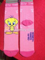 terry socks for children girl