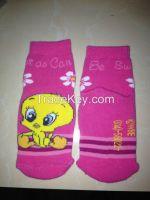 terry socks for baby girl