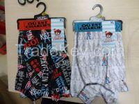 boxer for men polyester+sublimation print