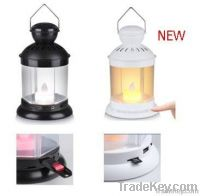 Speaker Lantern with Touch Sensor Double Color Lights
