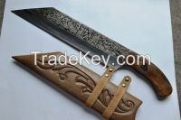 Handmade Damascus Steel Hunting Knives