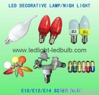 E12/E14 LED light bulbs