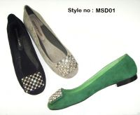 Fancy Lady shoes with crystal decoration
