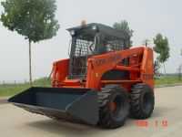 skid steer loader and attchment